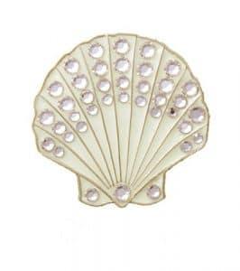 Bella Cristal Collection-usa Sable Coque Chapeau Clip Set