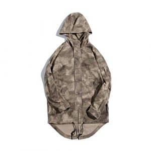 CAI&HONG-GUO GCC Veste à Manches Longues Camouflage pour Hommes, A, M