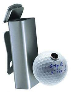 Cendrier de Golf Smoki Plus Grip it n' Rip it! Cendrier de Golf élégant avec Porte-Cigarettes