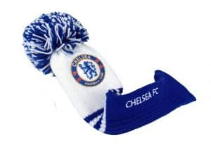 Chelsea Pompom Driver Headcover by SEI