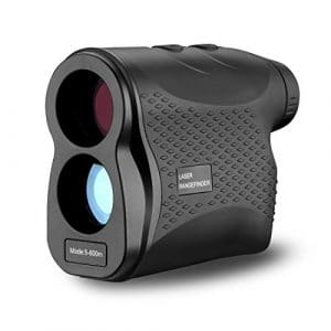 Deko Télémètre Laser pour la Chasse et Le Golf – Télémètre Laser avec Brouillard, Balayage, Mesure de Vitesse