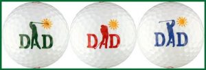 Enjoy Life Swinging Dad Balles de golf W/mouvement Série