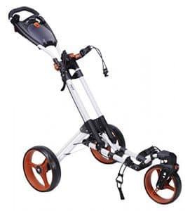 Fast Fold 360chariot, mixte, FF451016, blanc/orange, n/a
