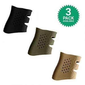 GoZier Tactical Manches Glock Grip 3 Paquet; Noir, Vert Od, Désert de Sable