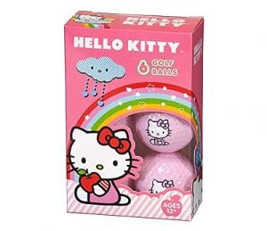 Hello Kitty Golf The Collection Golf Balls Individual Box 6 Balls by Hello Kitty