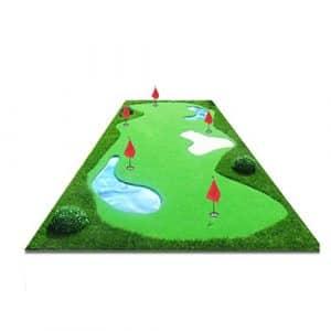 LEI ZE JUN UK- Golf intérieur et extérieur Putter Pratique Ticker Pratique Couverture Balle Pad Rapide Balle Vitesse