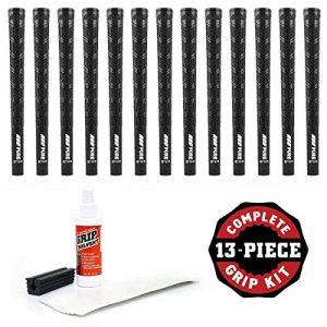 Pure Grips DTX kit de prise en main avec du ruban adhésif, solvant et Etau (13), Standard, Noir
