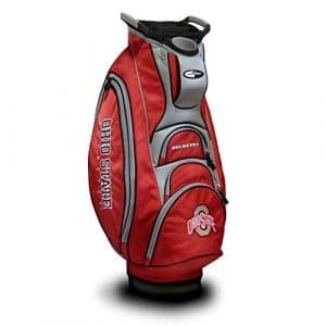 Team Golf NCAA Ohio State Cart Bag, Multicolor by Sportsman Supply Inc.