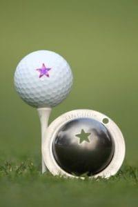 Tin Cup Lone Star Balle de golf Marquage Pochoir, Acier