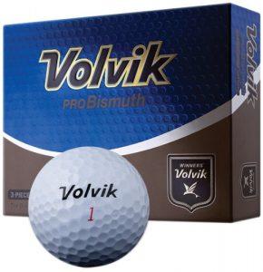 volvik probismuth Lot de 3balles de golf (Lot de 12), blanc