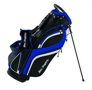 Ben Sayers G6419 Sac de Golf Mixte Adulte, Noir/Bleu, 8.5-inch