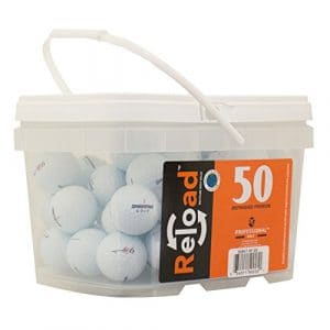 Bridgestone E6de golf de récupération Balles de golf (lot de 50)