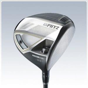 Bridgestone pHYZ driver de golf pour homme main droite, graphite, regular, 10,5°