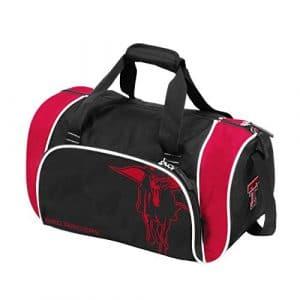 Collegiate Locker Sac de Sport avec Sangle d'épaule, Mixte, 220-53L, Noir, 6