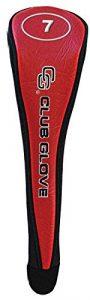 Gant de club de golf bois de parcours # 7Tête Coque, mixte, Red