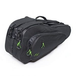 Gigavibe Sac de Tennis Premium 6R en noir (Black/Neon)