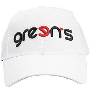 Green's GRE-CL3D Casquette Mixte Adulte, Blanc