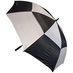 Green's GRE-PU Parapluie Mixte Adulte, Noir/Blanc