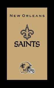 KR Strikeforce Serviette de NFL New Orleans Saints, Multi
