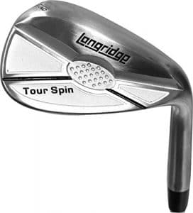 Longridge Tour Spin Lob wedge ou sand wedge – 52 °, 56 °, 60 ° ou 64 °, satiné, 60 Degree