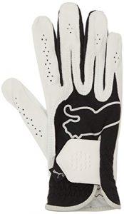 Puma gants de golf – main droite – Homme Noir/Blanc FR : 40 (Taille Fabricant : M)