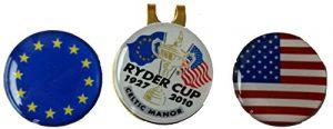 Ryder Cup 2010Cap Clip et marqueurs de balle