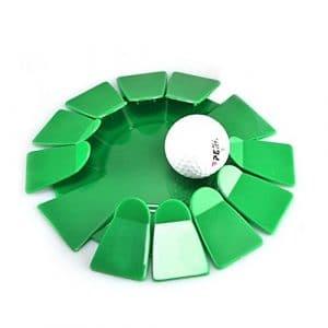Suweqi Plastique All-Direction Putting Cup Golf Practise Trou d'entraînement intérieur/extérieur