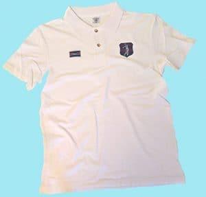 VIA PRINT Polo maille piquée coton Femme Blanc Tailles XL GOLF Pocket