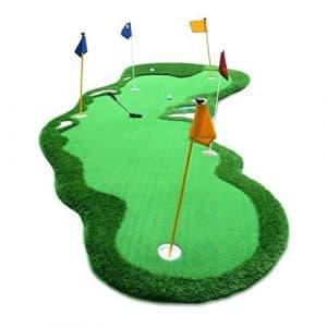 DS- Tapis d'entraînement de Golf Tapis extérieur d'entraînement de Putt d'intérieur de Golf 200 × 500cm &&