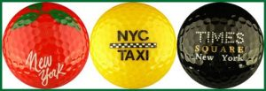 Enjoy Life New York Couleur Mix Balles de golf