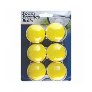 Intech Balles de golf en mousse Pratiquer, Lot de 6