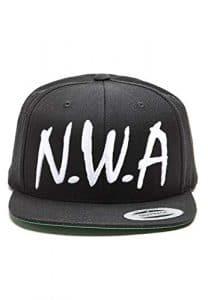 Magic Custom N.W.A – Casquette Snapback Noire – Noir – Taille Ajustable