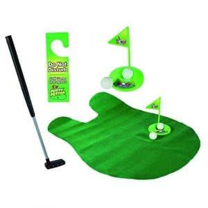 Ndier Potty Putter donnant Tapis de Salle de Bain WC Jeu de Mini Golf Jouet Trainer Lot