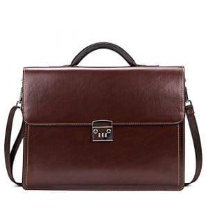 PUAG Mallettes rangement Sac à Main Business Styling Bag pour Homme avec Sac à Main pour Homme,Brown