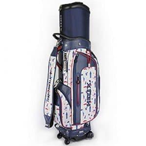 Sac Chariot Executive Golf Support De Golf des Fers Putter Clubs À Angle ÉLevÉ Sac De Golf Mixte Adulte