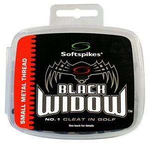 Soft Spikes Golf- veuve noire Kits de Taquet, mixte, Metal Thread