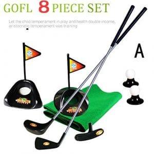 Sowofa Junior Pro Ensemble de clubs de golf Plastique Sprots Jouets, a