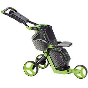 Sun Mountain Sac de Golf chariot pour ceinture Noir/vert citron