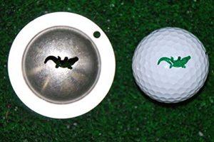 Tin Cup Gator Marqueur balle de Golf Custom Alignment Tool