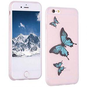 ToMoKi Coque de protection en silicone pour iPhone 6 Plus Coque ultra fine Soft Bumper Coque de protection en TPU pour Apple iPhone 6 Plus 6S Plus