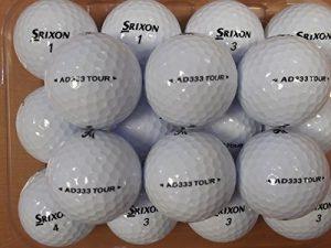 24Srixon AD333Tour Balles de golf–Pearl/Grade A Balles (utilisé non NEUF)