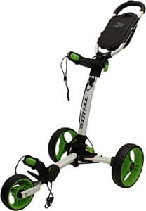 Axglo Trilite Chariot de Golf Mixte Adulte, Blanc/Vert