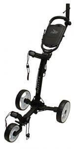 Axglo Trilite Chariot de Golf Mixte Adulte, Noir/Blanc