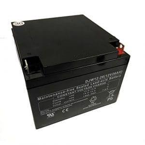 Batterie au plomb 26Ah Batterie Pour chariot de golf