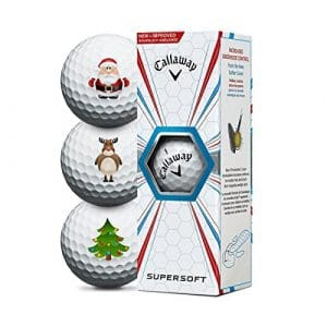 Callaway Supersoft Christmas Golfbälle – 3er Pack