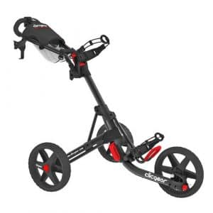 Clicgear 3.5 tolley-charcoal black/- 3 roues-push-cart-chariot