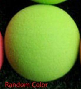 ELENXS 40mm EVA Golf Monochrome Balles de Pratique Golf Intérieur Extérieur Formation Balles en Mousse de Couleur aléatoire