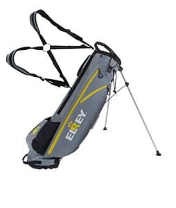 elrey Golf 7 Inch Lite Stand Bag Multi Colour, gris/jaune