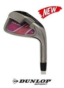 Fer de golf Dunlop Lady – Pour femme (au choix: 5-7 – 9 – PW – SW) – Avec tige en graphite – Flex L, Femme, Eisen 7