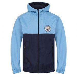 Manchester City FC officiel – Coupe-vent/Imperméable thème football – garçon – 8-9 ans